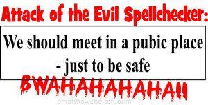 spellchecker fail