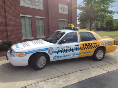 Snellville cop cab