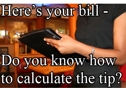 How to Calculate Tips